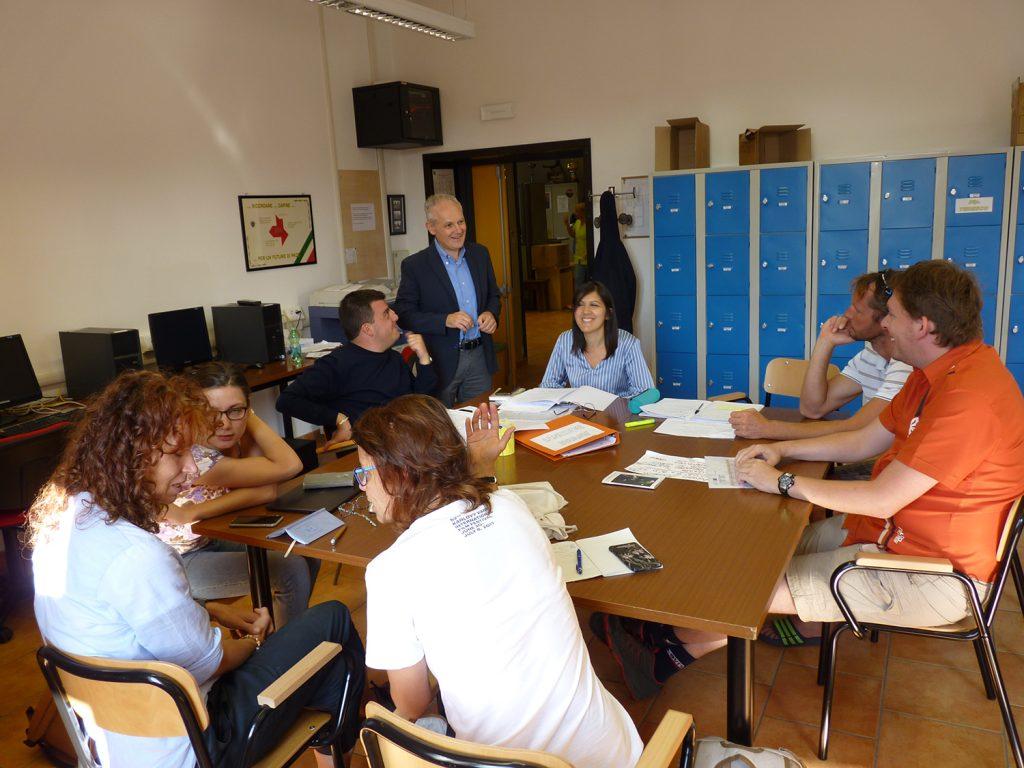 Pracovní stáž našich učitelů v Itálii