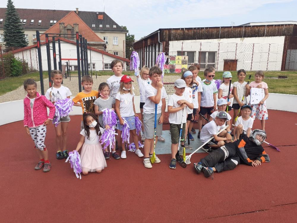 Sportovní turnaje a zmrzka pro Moravu