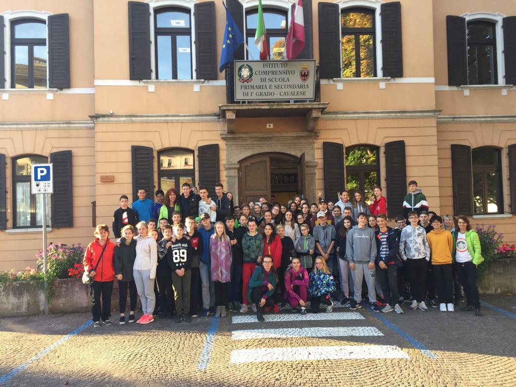Žáci v Itálii v rámci Erasmus +